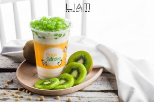 Fruity Soya Milk Tea - Kiwi